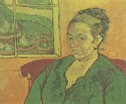 Portraif of Madame Augustine Roulin (nn04), Vincent Van Gogh