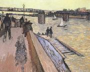 The Bridge at Trinquetaille (nn040, Vincent Van Gogh