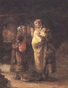 Willem Drost Ruth declares her Loyalty to Naomi (mk33) oil painting