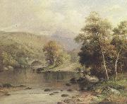 William henry mander On the Mawddach,near Dolgelly (mk37) oil painting