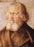 Albrecht Durer Portrait of Hieronymus Holzschuher oil painting
