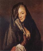 Woman with a Veil:Marie Suzanne Roslin