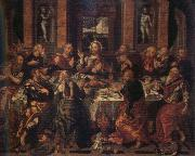 Alonso Vazquez Last Supper oil painting reproduction