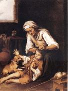 Bartolome Esteban Murillo The Toilette