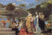 The Finding of Moses, Bourdon, Sebastien