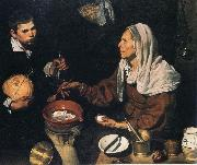 Old Woman Cooking Eggs, Diego Velazquez