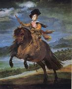 Diego Velazquez Prince Baltassar Carlos,Equestrian oil painting reproduction