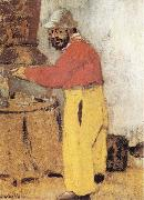 Edouard Vuillard Portrait of Toulouse Lautrec oil painting reproduction