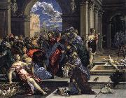 El Greco Purification of the Temple oil painting reproduction