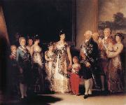 The Family of Charles IV, Francisco Jose de Goya