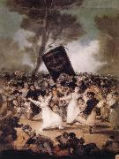 The Burial of the Sardine, Francisco Jose de Goya