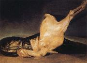 Plucked Turkey, Francisco Jose de Goya