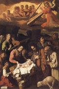 Francisco de Zurbaran Adoration of the Shepherds oil painting reproduction