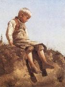 Young Boy in the Sun