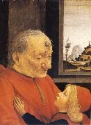 Old Man and Young Boy, GHIRLANDAIO, Domenico