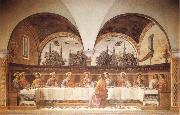 Last Supper, GHIRLANDAIO, Domenico