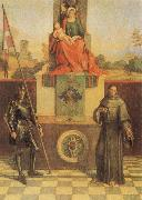 Virgin and CHild with SS Francis and Liberalis, Giorgione