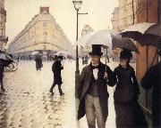 A Rainy Day, Gustave Caillebotte