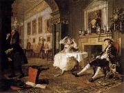Marriage a la Mode:Shortly after the Marriage, HOGARTH, William