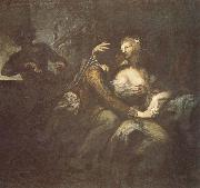 Heinrich Fussli Recreation by our Gallery oil painting reproduction