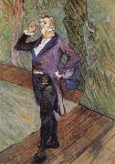Henri de toulouse-lautrec Henry Samary oil painting on canvas