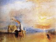 The Fighting Temeraire Tugged to her Last Berth to be Broken Up, J.M.W. Turner