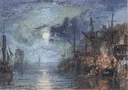 Shields,on the River, J.M.W. Turner