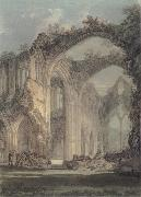 The Chancel and Crossing of Tintern Abbey,Looking towards the East Window, J.M.W. Turner
