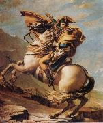 Jacques-Louis David Napoleon Crossing the Alps oil painting