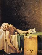 Jacques-Louis David The Death of Marat oil painting