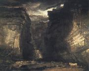 James Ward Gordale Scar oil painting on canvas