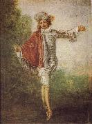 L'Indifferent, Jean-Antoine Watteau