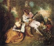 Scale of Love, Jean-Antoine Watteau