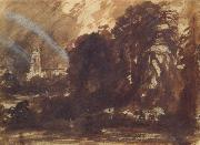 John Constable Stoke-by-Nayland,Suffolk oil painting on canvas