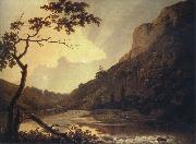 Matlock Tor by Daylight mid, Joseph wright of derby