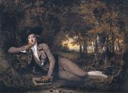 Sir Brooke Boothby, Joseph wright of derby