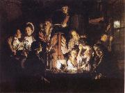Experiment iwth an Airpump, Joseph wright of derby