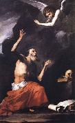 Jusepe de Ribera St.Ferome and the Angel oil painting