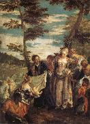 Paolo Veronese The Finding of Moses oil painting reproduction