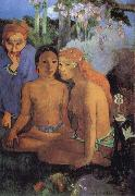 Paul Gauguin Contes barbares oil painting on canvas