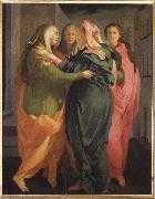 Visitation, Pontormo, Jacopo