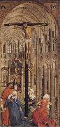 Roger Van Der Weyden Crucifixion in a Church oil painting