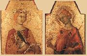 Simone Martini St Catherine and St Lucy oil painting reproduction