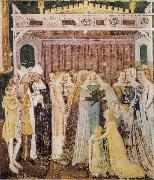 TOMMASO DA MODENA The Departure of St Ursula oil painting