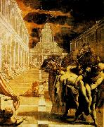 The Stealing of the Dead Body of St Mark, Tintoretto