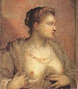 Portrait of a Woman Revealing her Breasts, Tintoretto