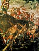 The Ascent to Calvary, Tintoretto