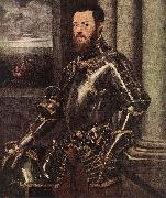 Man in Armour, Tintoretto