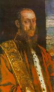 Portrait of Vincenzo Morosini, Tintoretto
