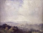 Tom roberts Harrow Hill oil painting on canvas